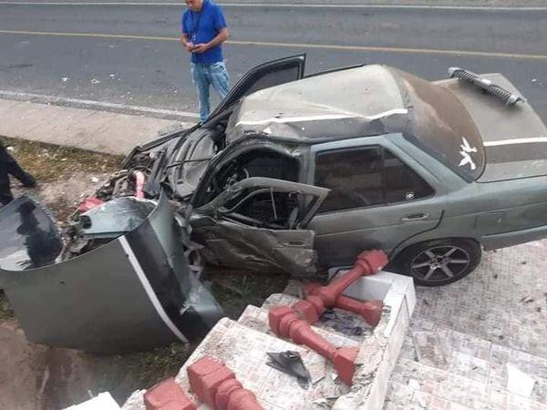 Tres lesionados en accidente de tránsito en Chinandega