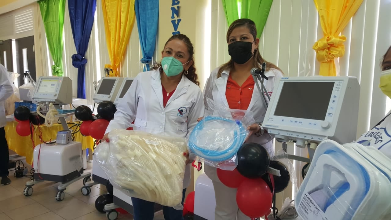 Llegan nuevos equipos al hospital de Boaco Managua. Radio La Primerísima