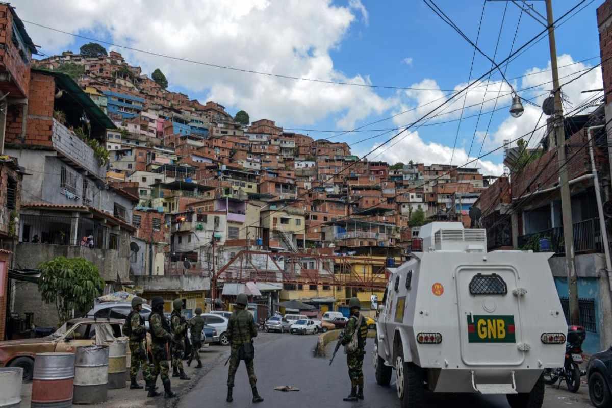 Violencia terrorista en Caracas Misión Verdad, Venezuela