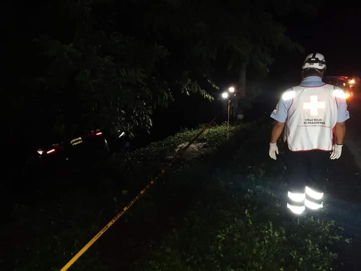 Muere al estrellarse contra furgón en Estelí Managua. Radio La Primerísima
