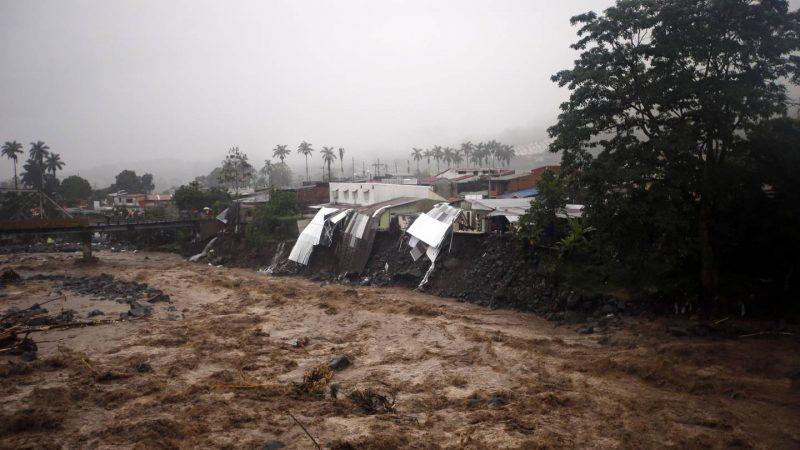 Sube a 3.000 la cifra de damnificados por temporal en Costa Rica San José. La Nación