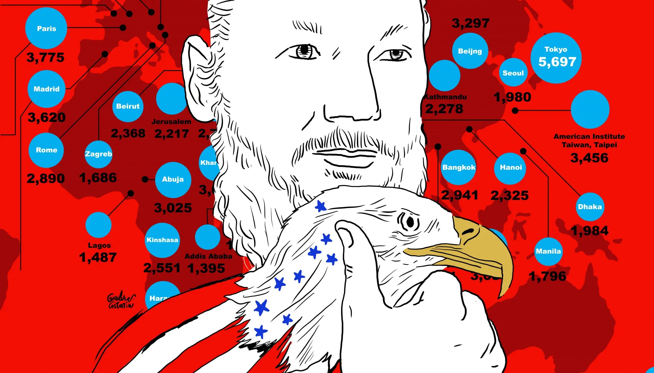 Vanas acusaciones de EEUU contra Assange Por Salvador González Briceño | Agencia ALAI, Ecuador