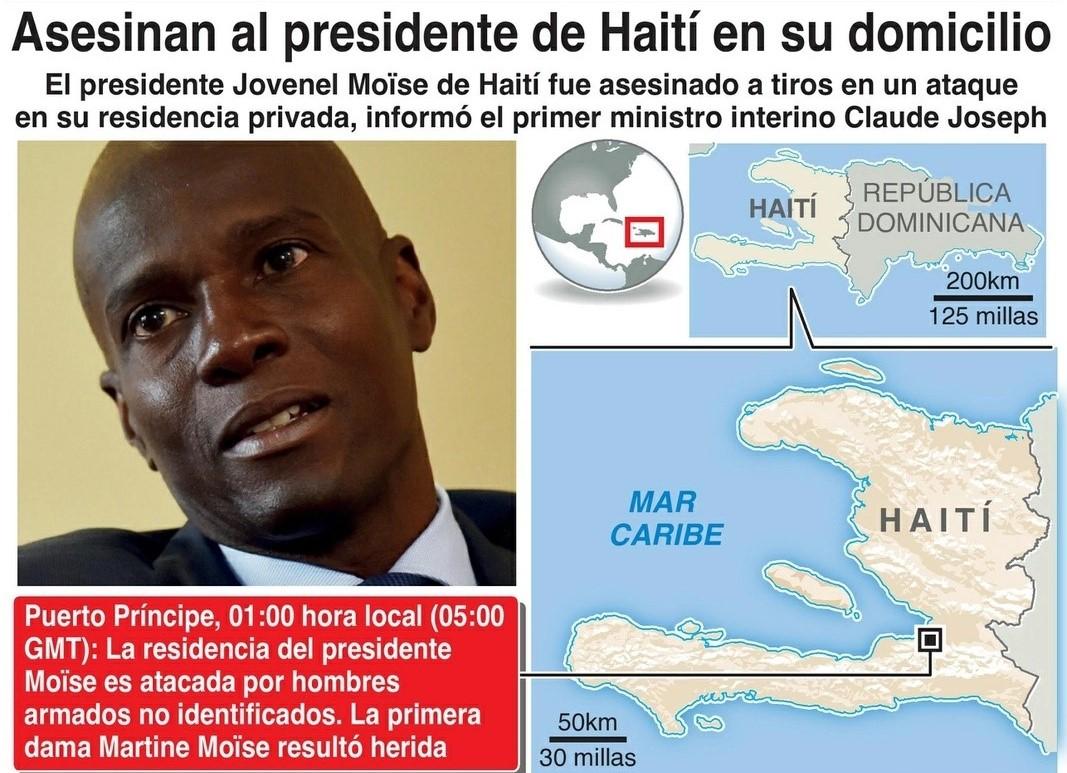 El trasfondo de los mercenarios colombianos en Haití Por Luis Alfonso Mena S. | https://luisalfonsomenas.blogspot.com/