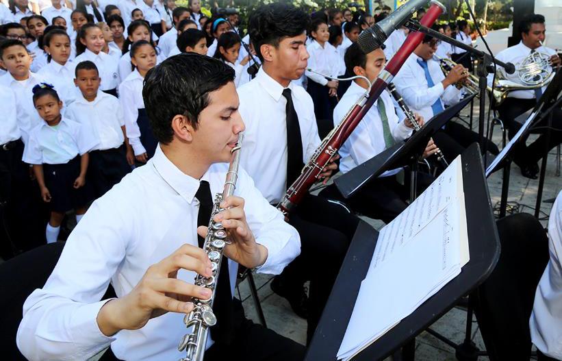 Aumentan coros y orquestas sinfónicas Managua. Radio La Primerísima