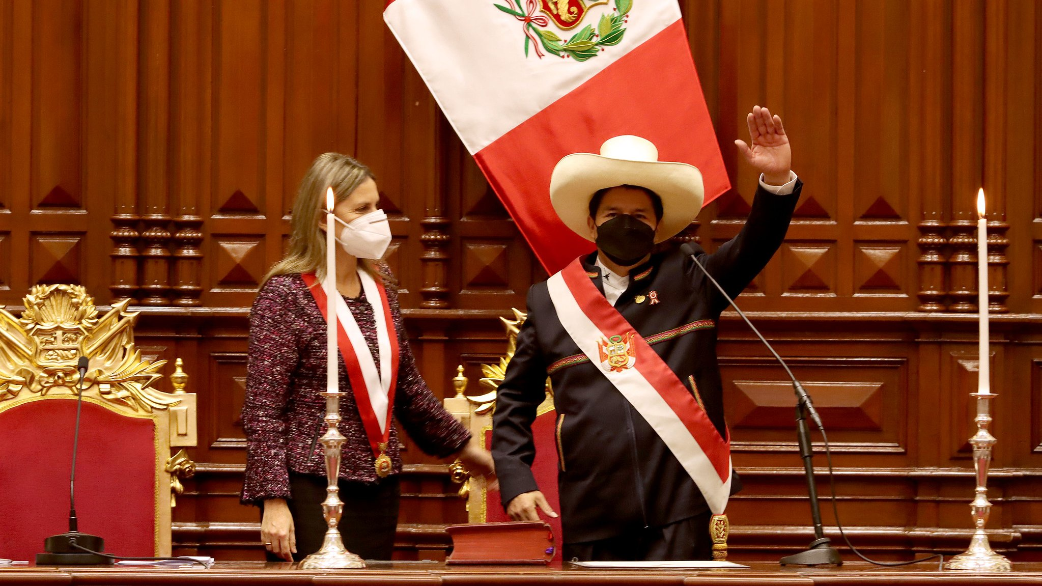 «Por los nadies y por los sin voz», jura Pedro Castillo como Presidente de Perú Lima. Agencias