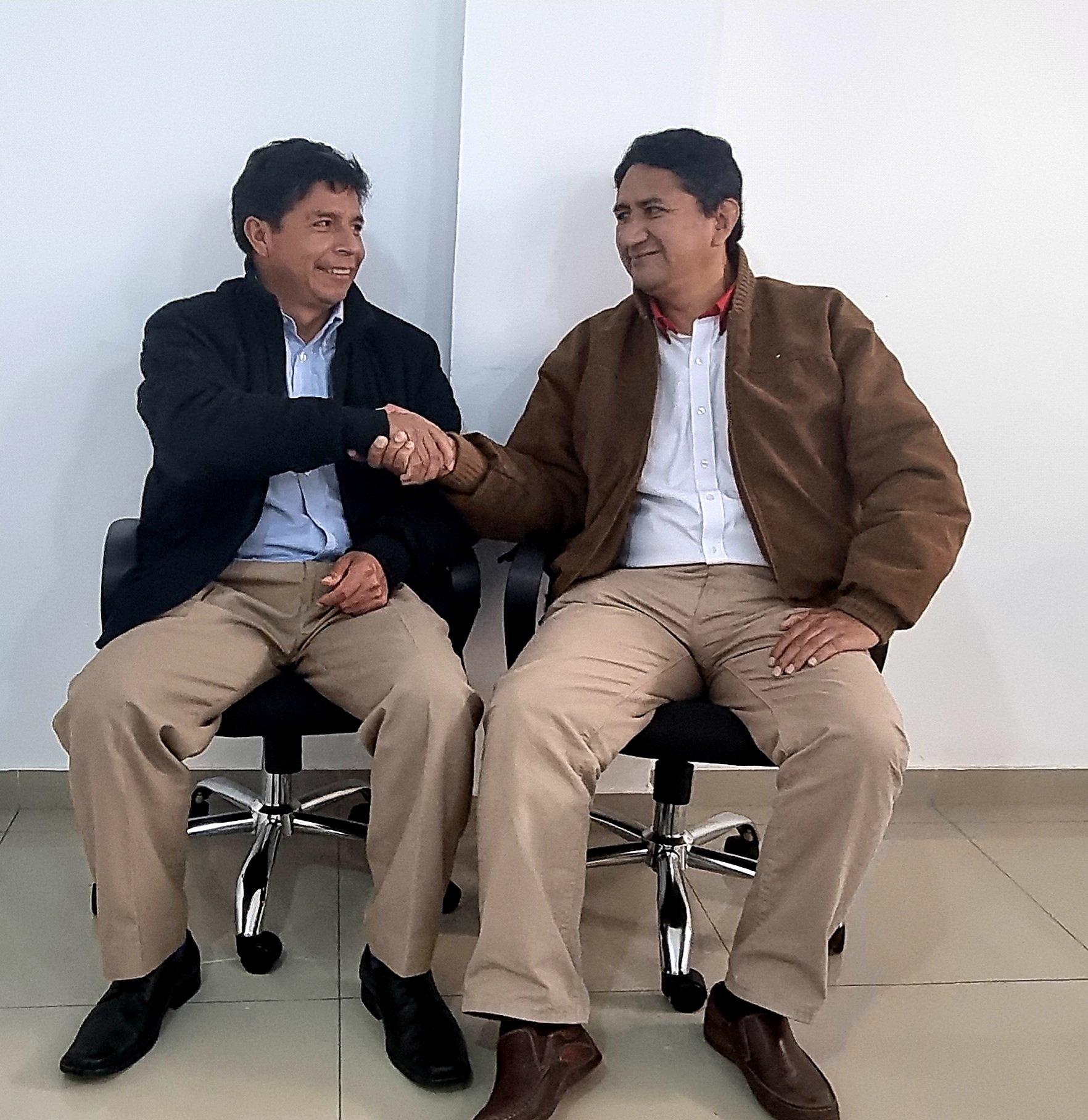El partido Perú Libre y el nuevo presidente Por Vladimir Cerrón Rojas (*)   Facebook