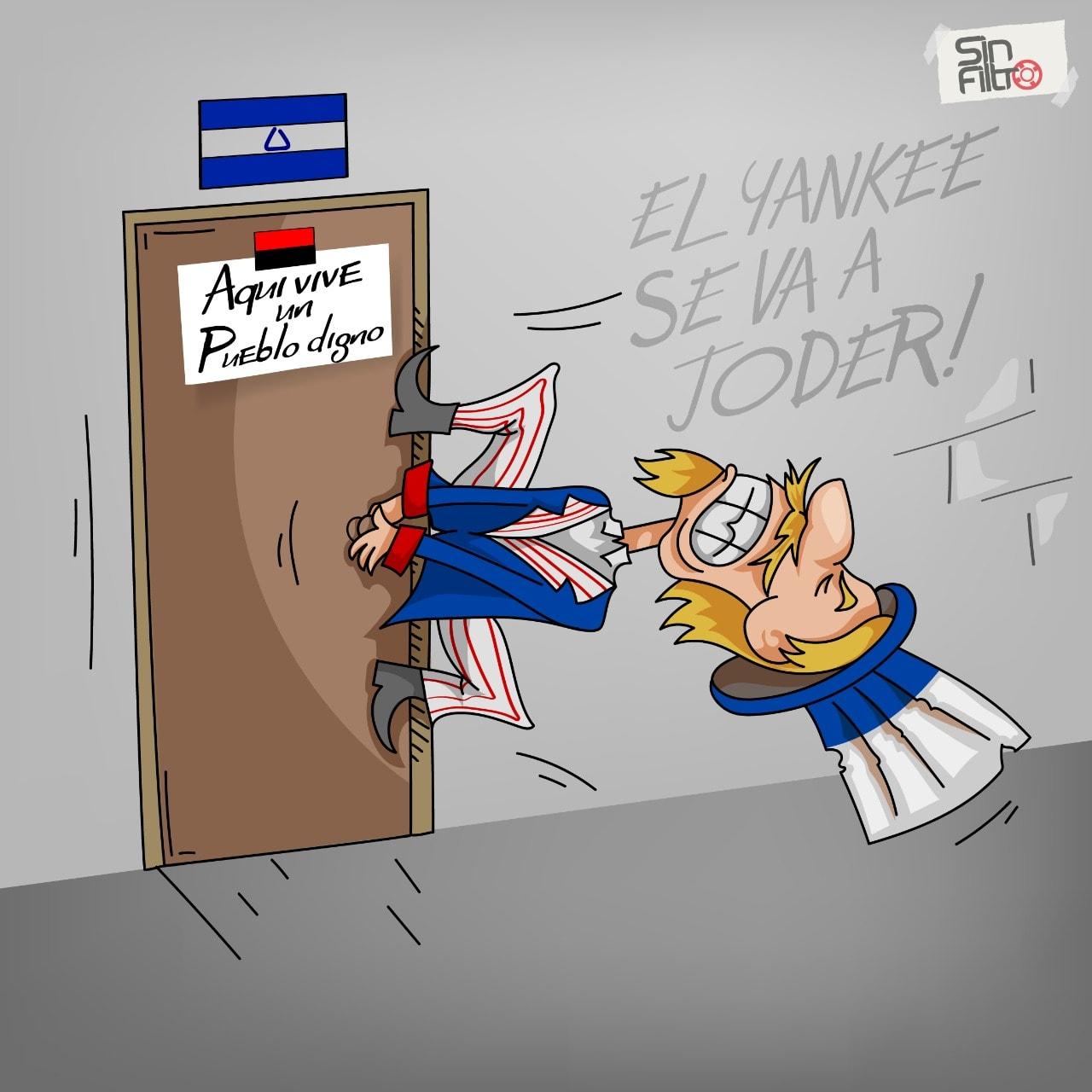 Ninguno es candidato, todos son delincuentes y patricidas Por Margine Gutiérrez