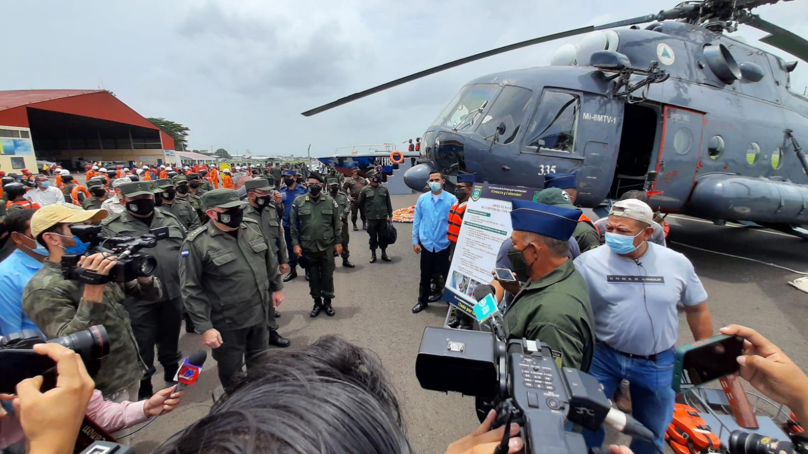 Ejército estrena equipos y medios para protección de población Managua. Por Jerson Dumas/Radio La Primerísima