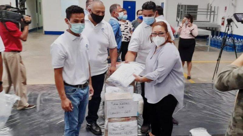 Distribuyen material para la verificación en Managua Managua. Danielka Ruíz/Radio La Primerísima