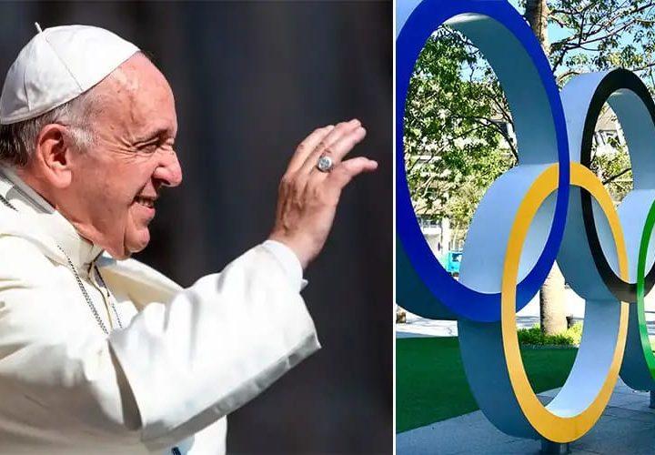 El Papa pide que Juegos Olímpicos de Tokio sean signo de esperanza