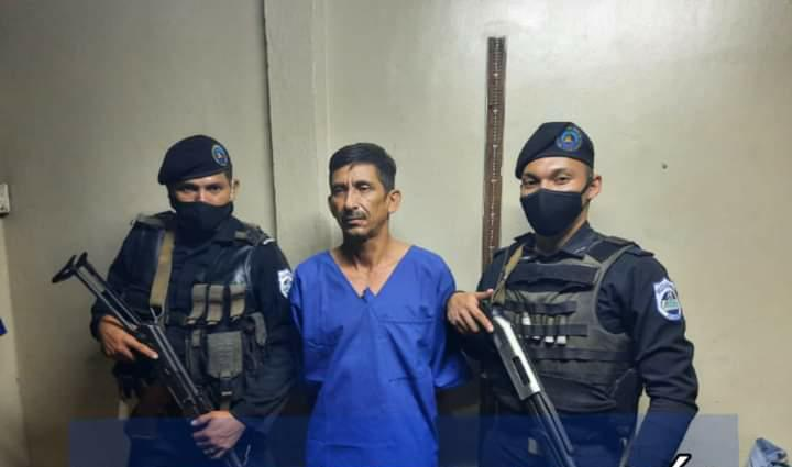 Capturan a sujeto que mató a mujer en León Managua. Jerson Dumas/Radio La Primerísima