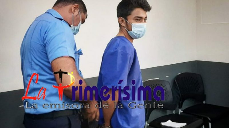 Carnicero culpable por asesinato de futbolista Managua. Jerson Dumas/Radio La Primerísima
