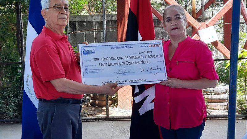 Lotería ha entregado más de 128 millones de córdobas en utilidades Managua. Por Libeth González/Radio La Primerísima
