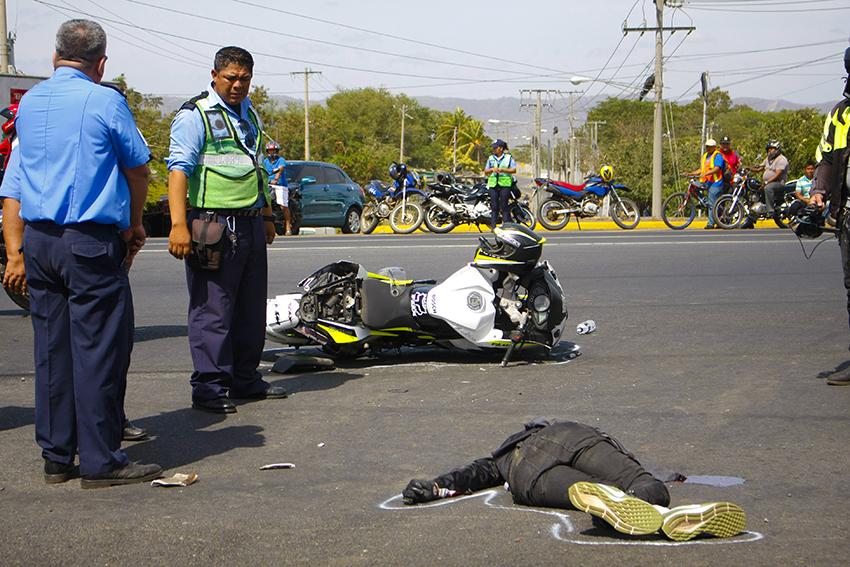 Reportan un fallecido en accidente de tránsito Managua. Radio La Primerísima
