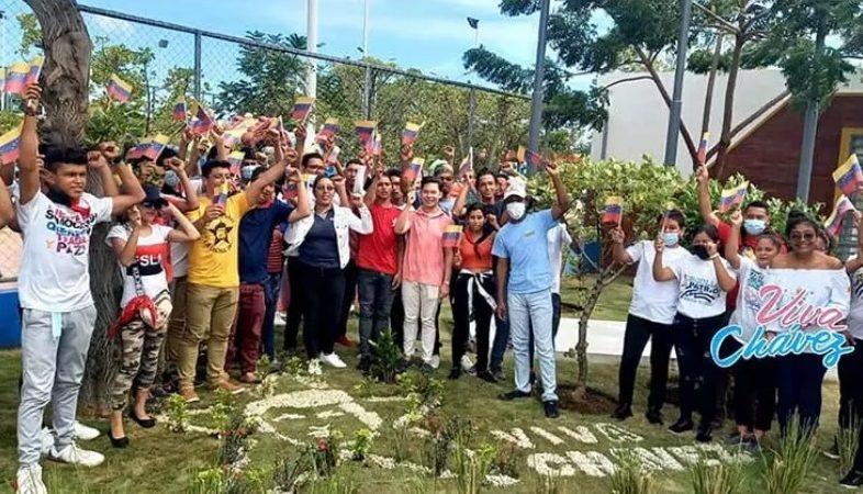 Ambientalistas rinden homenaje al Comandante Hugo Chávez Managua. Radio La Primerísima