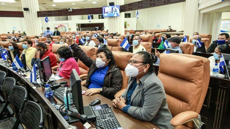 Asamblea recuerda natalicio del Comandante Chávez Managua. Radio La Primerísima