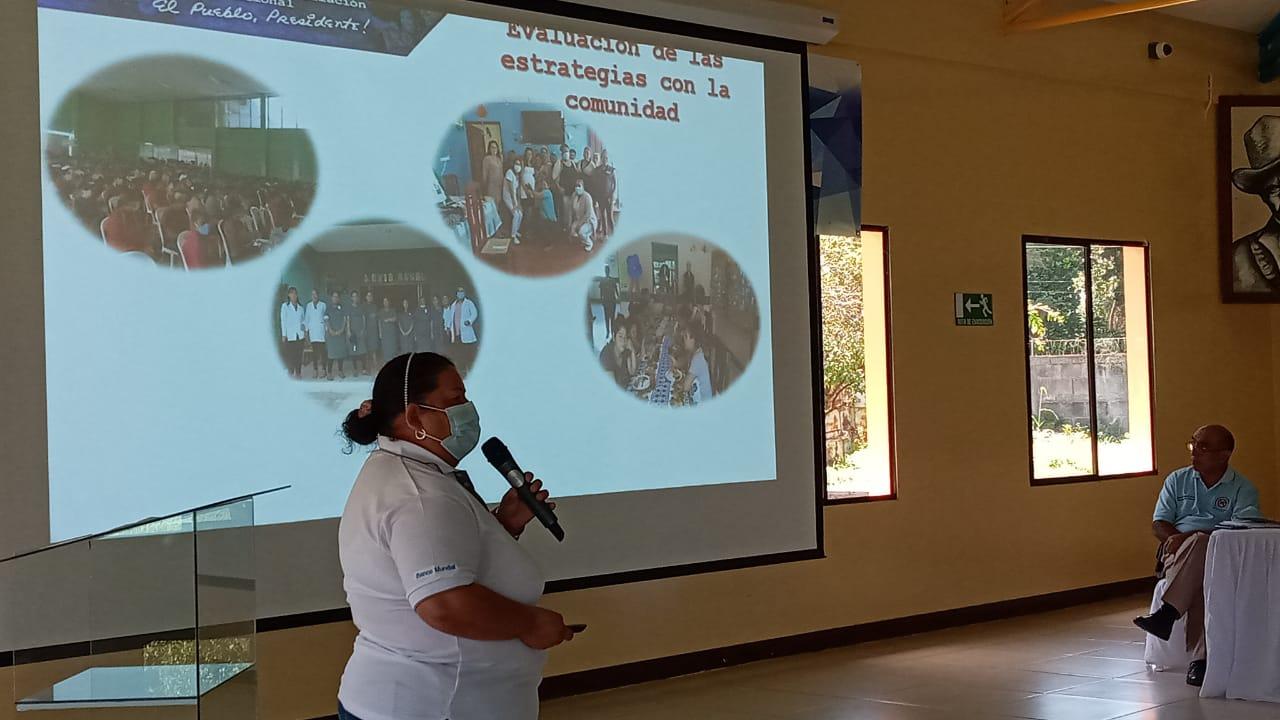 MINSA desarrolla asamblea evaluativa en salud materna y neonatal Diriamba. Manuel Aguilar/Radio La Primerísima