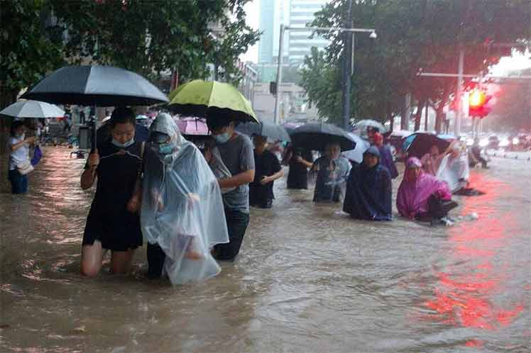 Suman 25 muertos por lluvias en una provincia de china Beijing. Agencias