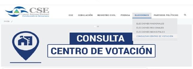 Ciudadanos podrán consultar en línea centros de votación Managua. Radio La Primerísima