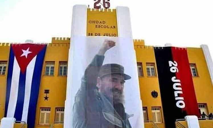 Díaz-Canel reitera llamado a la paz en el Día de la Rebeldía Nacional La Habana. Prensa Latina