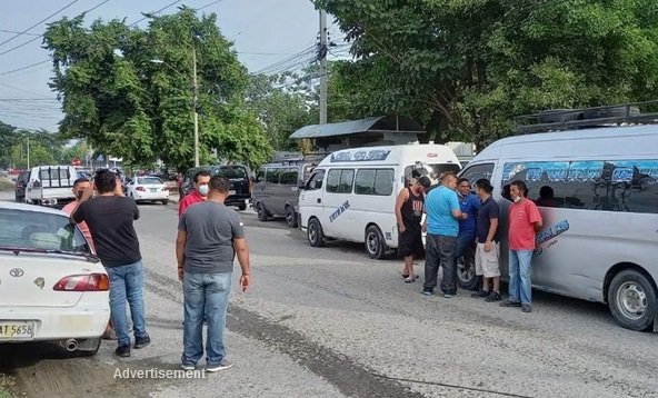 Paralizan transporte en varias ciudades de Honduras San Pedro Sula, Cortés. La Prensa.hn