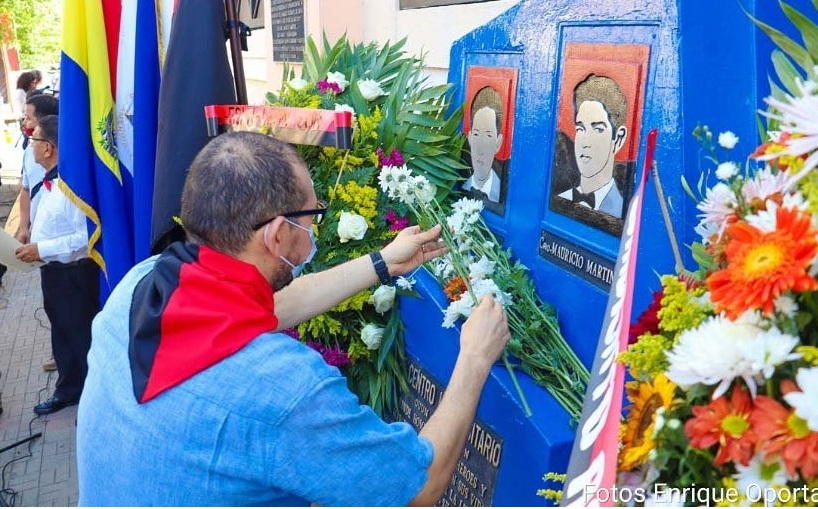 Leoneses recuerdan a mártires del 23 de julio Managua. Radio La Primerísima