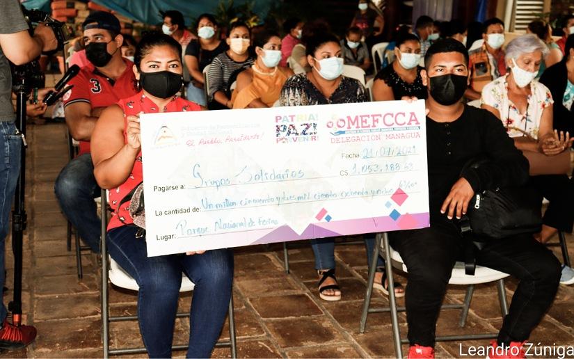 Desembolsan más de 1 millón de córdobas a emprendedores Managua. Ingrid Canda/Radio La Primerísima