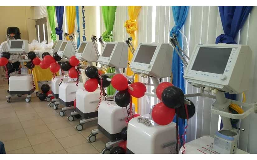 Hospitales recibirán ventiladores y nebulizadores Managua. Radio La Primerísima