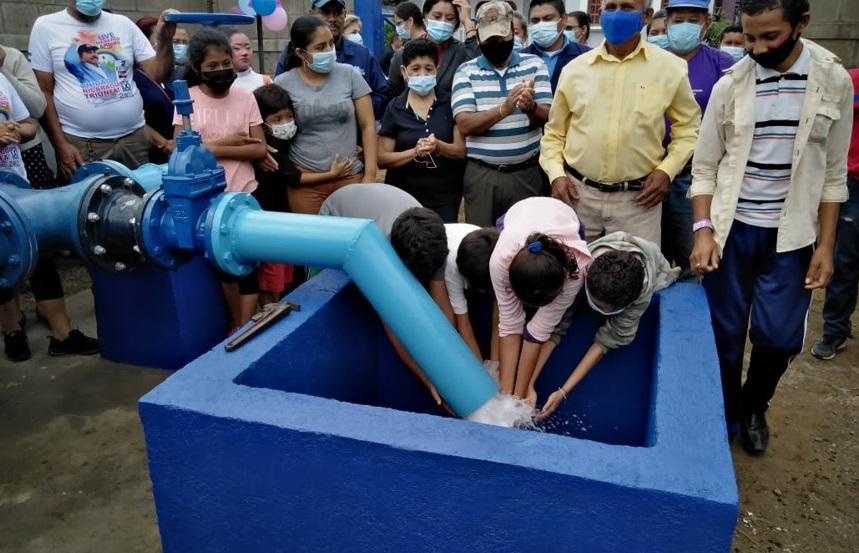 Listo pozo que beneficia a 35 mil ticuantepeños Managua. Radio La Primerísima