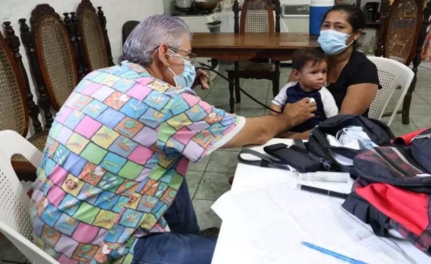 Clínicas móviles llegan al barrio Hialeah Managua. Radio La Primerísima