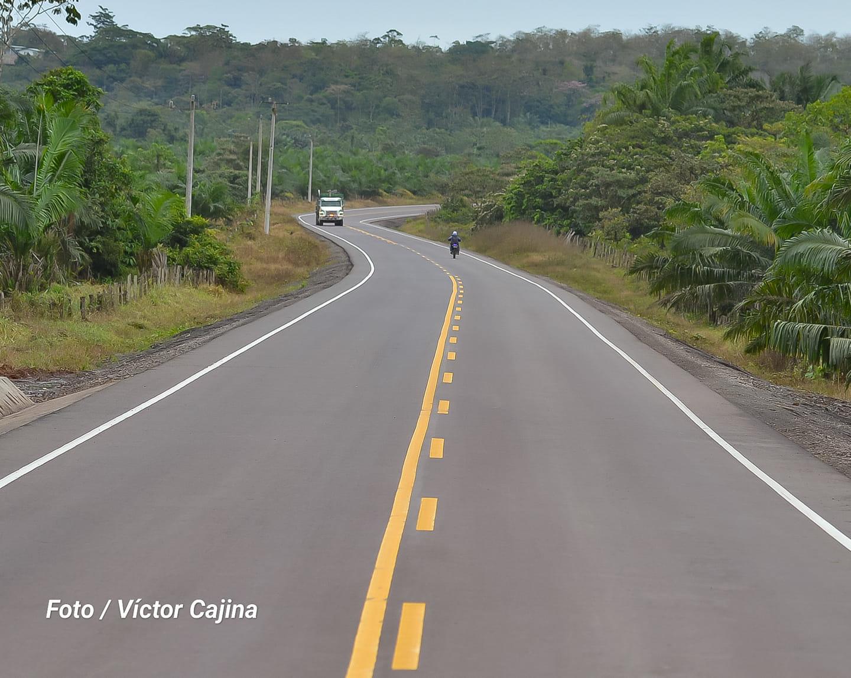 Listo tramo de carretera Arena-Monte Rosa en Zelaya Central Managua. Radio La Primerísima