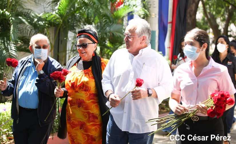 Asamblea, Ejército y Policía homenajean a Tomás Managua. Radio La Primerísima
