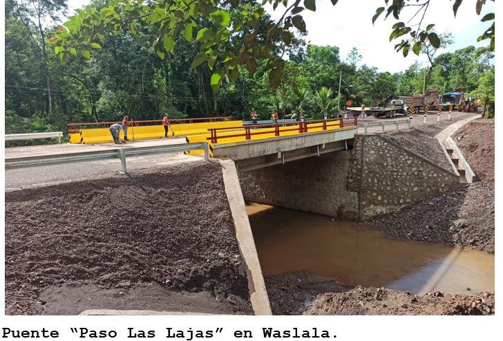 MTI inaugurará 13 puentes en el tramo Waslala – Siuna Managua. Radio La Primerísima