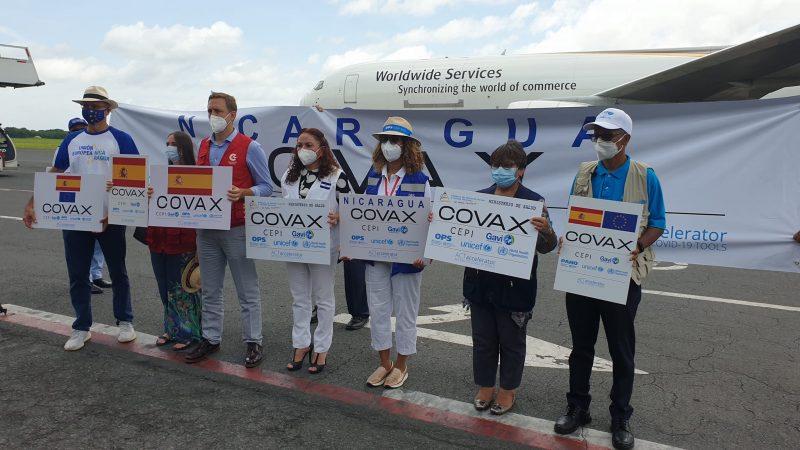 Llegan 199 mil 200 dosis de la vacuna contra el Covid-19 Managua. Radio La Primerísima