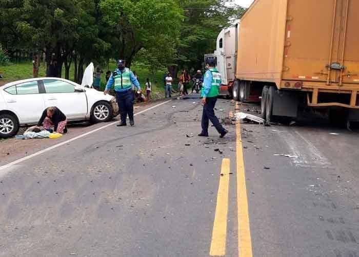 Reportan menos accidentes de tránsito, pero más fallecidos