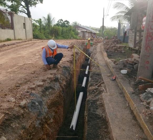A paso firme avanza construcción de alcantarillado en Bluefields Managua. Radio La Primerísima
