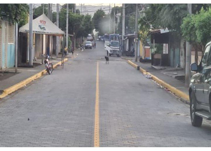 Inaugurarán 28 calles en Masaya y Ciudad Sandino