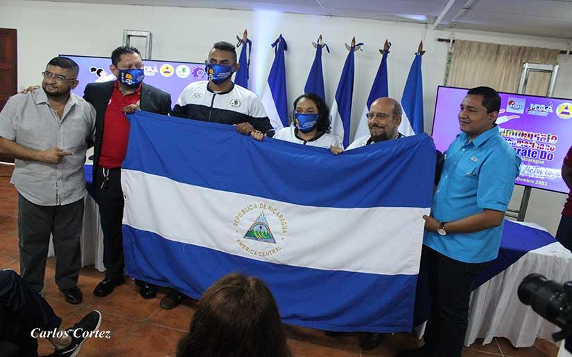Abanderan a Selección Nacional de Karate Do Managua. Radio La Primerísima