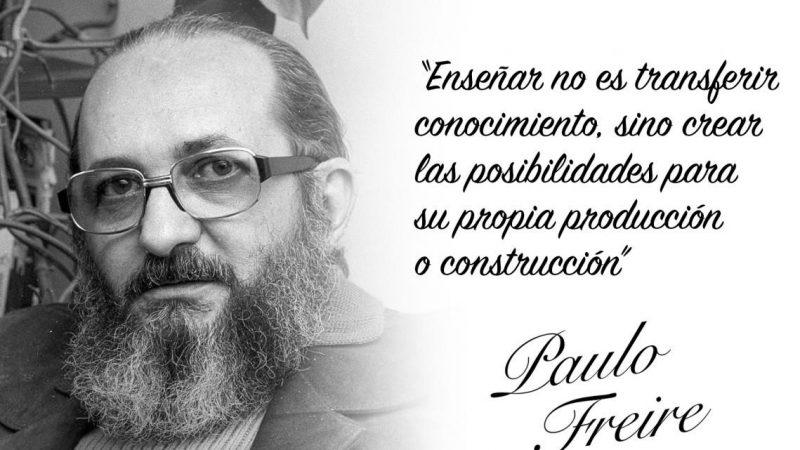 100 años de Paulo Freire Por Frei Betto | Servicios Koinonía