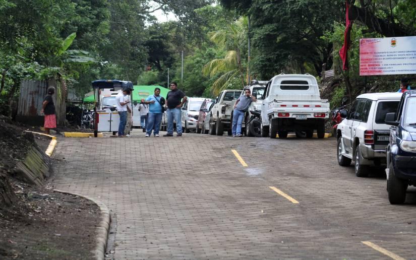 Listo adoquinado en comarca Cuajachillo Managua. Radio La Primerísima