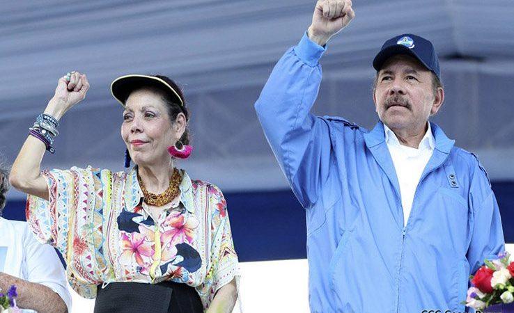 Daniel y Rosario saludan triunfo del Partido Rusia Unida en elecciones Managua. Radio La Primerísima