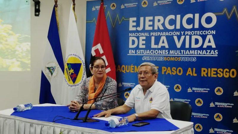 Realizarán simulacro para mejor preparación ante huracanes Managua. Por Danielka Ruíz/Radio La Primerísima