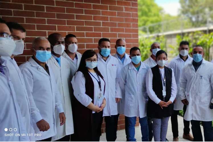 Brigada médica de Cuba llega a Guatemala para batallar contra el Covid-19 Guatemala. Prensa Latina
