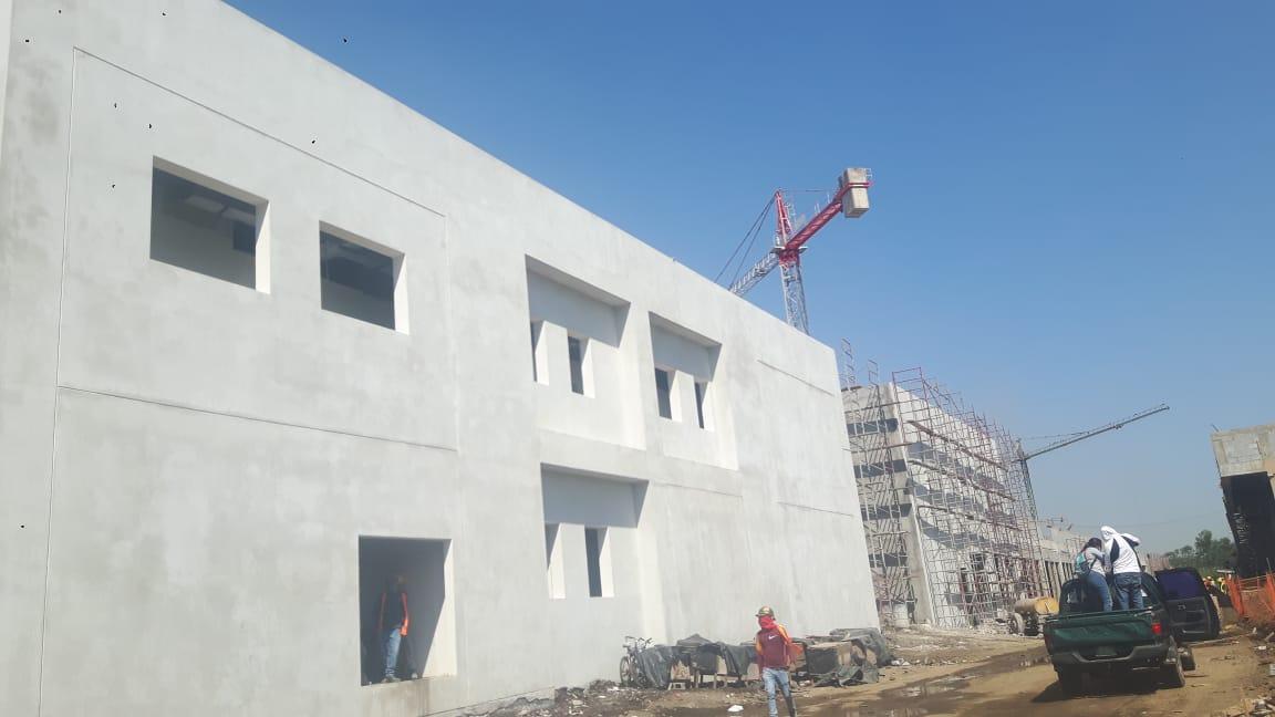 Casi finalizada construcción del hospital en Chinandega Managua. Radio La Primerísima