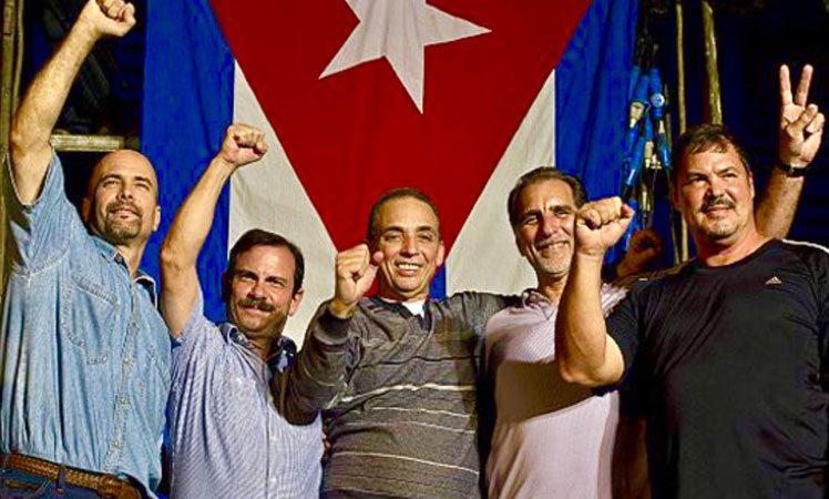 Recuerdan 23 Aniversario de la encarcelación de los cinco antiterroristas La Habana. Prensa Latina