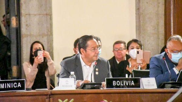 Arce afirma que la OEA ya no representa a América Latina La Paz. Telesur