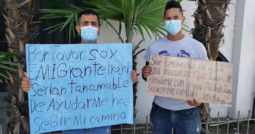 Migrantes piden ayuda para seguir hacia EEUU Managua. Radio La Primerísima