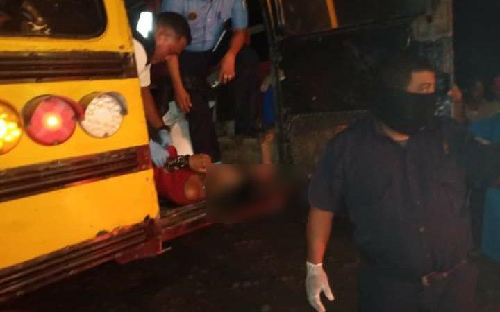 """""""Charro Negro"""" asesina a dos hombres en un barrio del municipio Rosita Managua. Por Ingrid Canda/Radio La Primerísima"""
