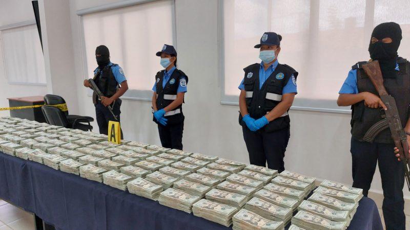 Incautan 795,060 dólares en Rivas Managua. Por Jerson Dumas/Radio La Primerísima