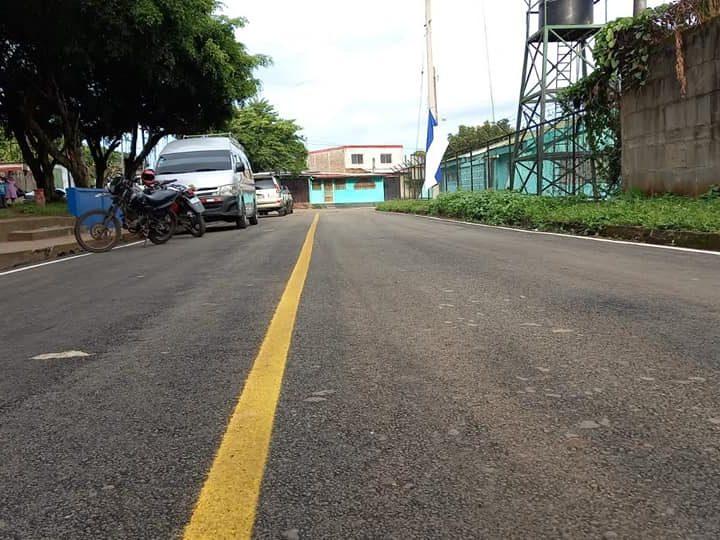 Inauguran calles en Jinotepe